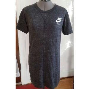 Nike Organic Cotton Just Do It Tunic T Shirt Top